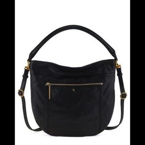 Elliot Lucca Faro city perforated leather hobo bag